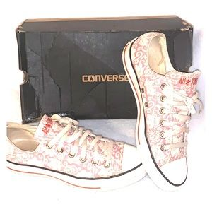 Converse Floral pink wins